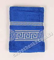 Махровое полотенце для лица Ver (80*50) Синий