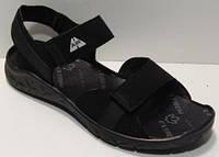 Спортивные сандалии мужские черные