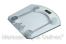 Весы напольные квадратные стеклянные 2003B до 180кг, фото 3