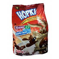 Hopki злаковые шарики с шоколадным вкусом, 500г