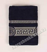 Махровое полотенце для лица Ver (80*50) Темно-синий
