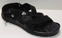 Повседневные мужские сандалии черные