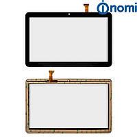 Сенсорный экран (Touchscreen) для Nomi C10102 Terra+, черный, оригинал