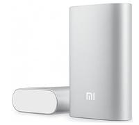 Зарядное портативное устройство для телефонов, mp-3 Xiaomi Mi Power Bank 10000mAh Silver