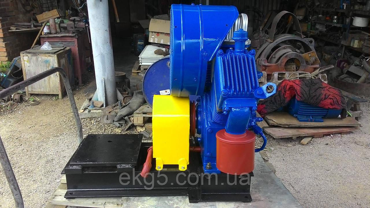 Агрегат компрессорный ПК 1.75 с электродвигателем - ТЕХНО-МАШ - запчасти к экскаваторам ЭКГ-5, электродвигатели, компрессоры в Кропивницком