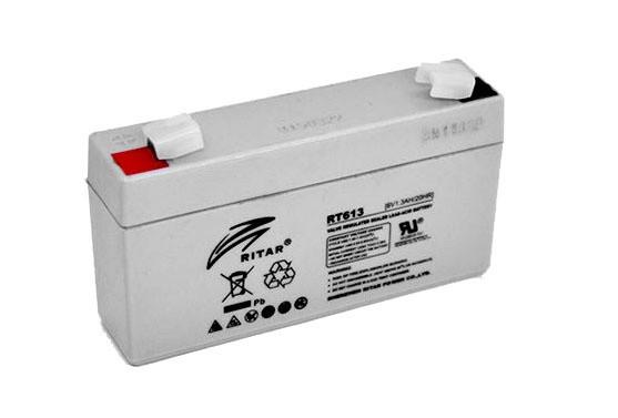 Аккумулятор 6V 1,3 ah  для детских мотоциклов