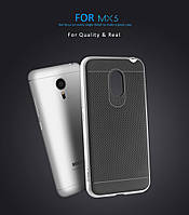IPAKY Meizu MX5 2 In 1 Hybrid Case Cover Black Чехол Накладка Бампер