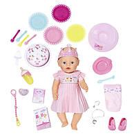 Кукла пупс Baby Born Беби Борн с Днем Рождения  Interactive Happy Birthday Zapf Creation 824054, фото 1
