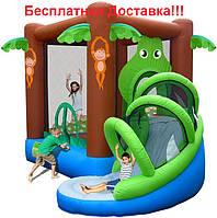 """Надувной батут  Happy Hop """"Веселые джунгли"""""""