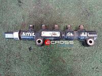 Рампа форсунок 1.4Hdi б.у., 9654592680,  1570G2, Citroen Nemo, Peugeot Bipper, 2008-