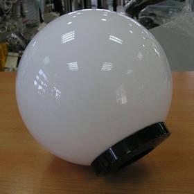 Светильник ШАР 250мм Белый Опал Е27