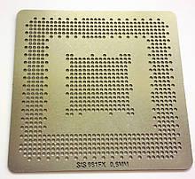 Трафарет BGA SIS 661FX, SIS 661GX шар 0,6 мм
