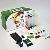 СНПЧ ColorWay Canon MP230/235/240/250/260/270/280/490, iP2700, MX320/330/340/350/360/410/420, 4x50 г чернил (MP240CN-4.5NC)