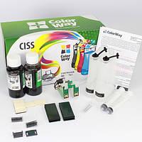 СНПЧ ColorWay Epson K101/K201/K301, с чипами, без чернил (K101CC-0.0)