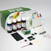 СНПЧ ColorWay Epson XP313/413/103/203, с чипами, 4x50 г чернил (XP413CC-4.5B)