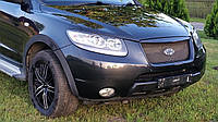 Капот, бампер передний, фары, крыло, усилитель, радиаторы  для Hyundai Santa Fe 2 CM 2006-2012