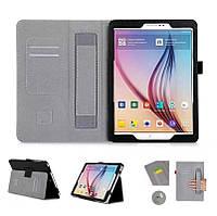 Чехол книжка ISIN Premium PU Leather Case With Hand Strap And Card Slots для Samsung Galaxy Tab S2 9.7 SM-T810