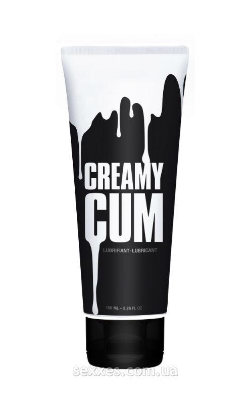 Смазка на водной основе Creamy Cum, имитирующая сперму (150 мл)