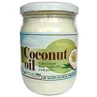 Кокосовое масло холодного отжима нерафинированное, 500 мл