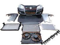 Капот, бампер передний, фары, крыло, усилитель, радиаторы  для Volkswagen Golf MK5 1K 2003-2009