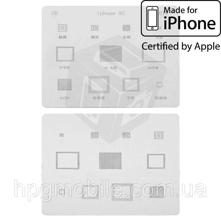 BGA-трафарет P3019 для Apple iPhone 5C (11 in 1) - HPG Mobile. Мобильные запчасти, аксессуары и другие товары по лучшим ценам в Харькове