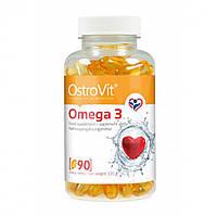 Жирные кислоты Omega 3 Ostrovit (90 капс)