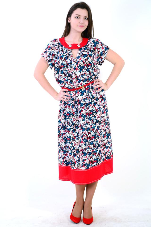 97aa5b5284d1 Купить Платье женское из хлопка. по лучшей цене с доставкой по Украине