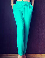 Женские летние штаны, штапель