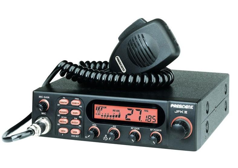 СиБи радиостанция President J.F.K. II ASC