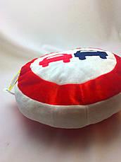 """Мягкая игрушка подушка """"Дорожный знак"""" Обгон Запрещен, фото 3"""