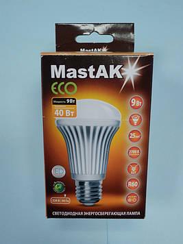 Світлодіодна лампа Mastak MUS02WE ( 9W LED R60 230V 2700K E27 )