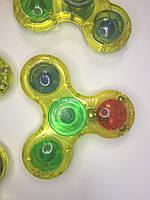 Светящийся спиннер / Спинер лед/ спинер с led лампочками  / светящийся спинер / 1 лампа 3 цвета