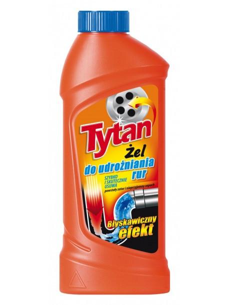 Гель для чистки каналізаційних труб Tytan 500 г