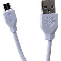Кабель Inkax CK-18 Micro USB Data Line 1m белый