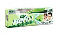 Зубная паста-гель Алое Вера 150 г, Dabur Herb'l Aloevera Toothpaste+зубная щётка