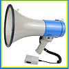 Мегафон, рупор, громкоговоритель HW-2501+запись+сирена