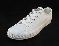 Кеды женские Converse белые (конверсы)(р.38)