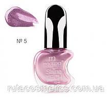 Malva cosmetics лак для нігтів Shine TECH 5