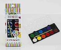Краски для рисования детские 12 цветов