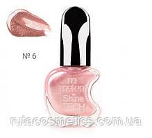 Malva cosmetics лак для нігтів Shine TECH 6