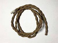 Текстильный витой провод (хаки)