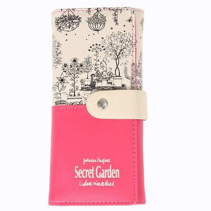 Кошелек женский Botusi Secret Garden, лиловый, фото 2