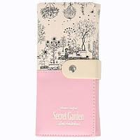 Кошелёк женский Botusi Secret Garden, розовый