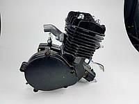 Веломотор 80куб без стартера без комплекта черный  НОВЫЙ