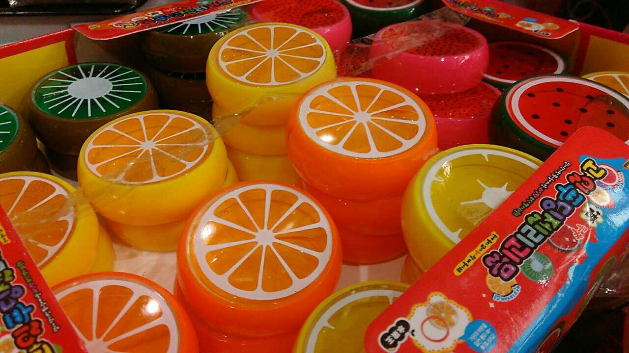Пластилин цветной в банке 60шт/уп ароматизированный