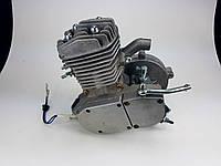 Веломотор 80куб без стартера без комплекта НОВЫЙ серого цвета