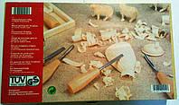 Стамески-резцы Для резьбы по дереву. Набор. 10 штук. ту