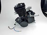 Веломотор 80куб со стартером без комплекта черный НОВЫЙ