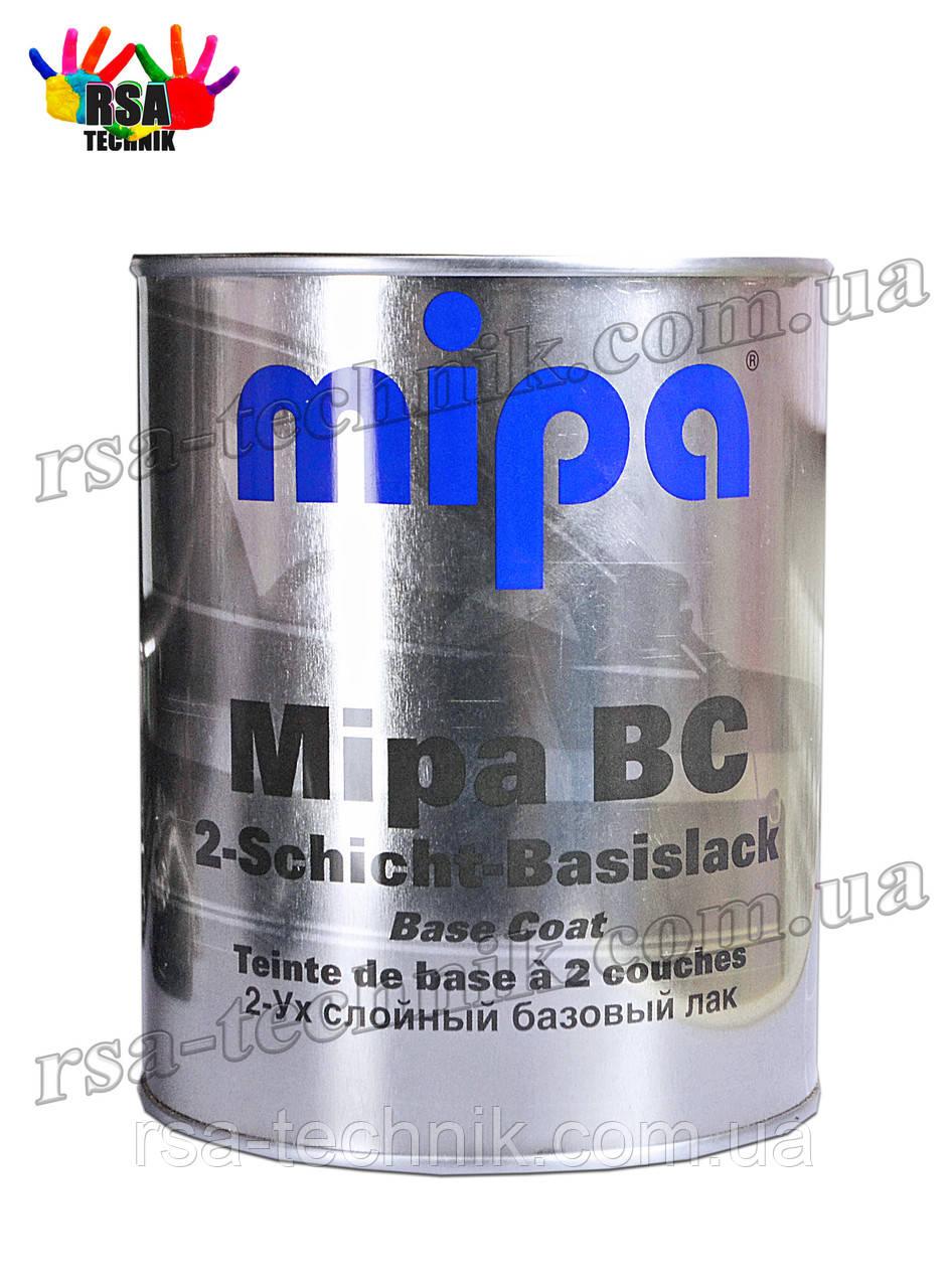Базовая,базисная автоэмаль Mipa 499 Ривьера (Мипа) металлик