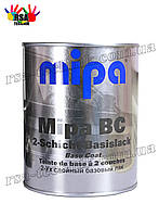 Базовая,базисная автоэмаль Mipa Посейдон (Мипа) металлик